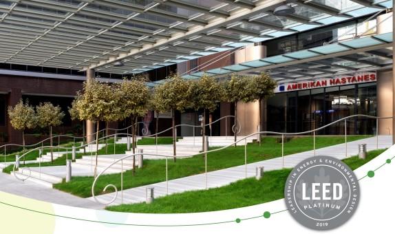 Amerikan Hastanesi Yeşil Bina Sertifikası Almaya Hak Kazandı