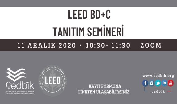 ÇEDBİK LEED BD+C Semineri
