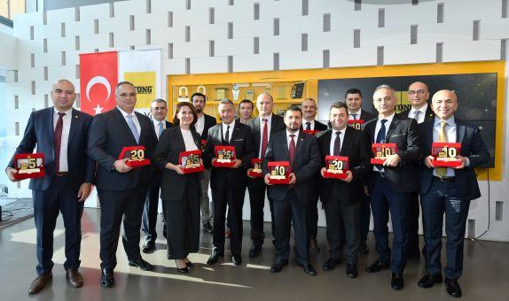 Türk Ytong 56'ncı Yılını Çalışanlarıyla Kutladı