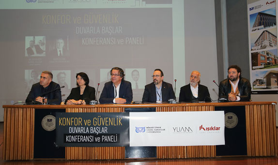 Yapı Ürünlerinin Gelişimi ve Geleceği Mimar Sinan'da Konuşuldu!