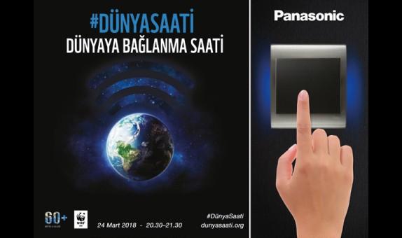 Panasonic Eco Solutions Türkiye, Dünya Saati Etkinliğine Destek Verdi
