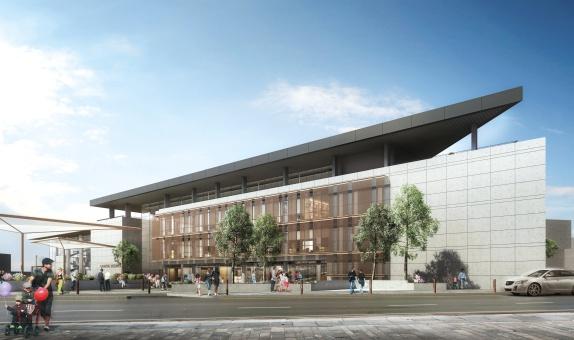 Çanakkale'nin 'Yeşil' Belediye Binasının İnşaatı Devam Ediyor