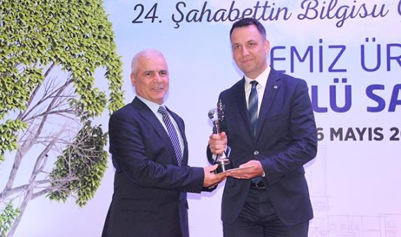 Şahabettin Bilgisu Çevre Ödülleri'nden Betek'e Ödül