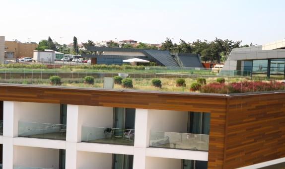 Florya Crown Plaza Oteli'nin Yeşil Çatı Sistemleri BTM Optigreen'e Emanet
