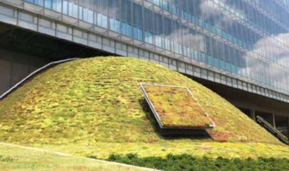 Garanti Bankası Teknoloji Kampüsü'ne BTM Optigreen ile Spesifik Çatı Çözümü
