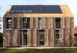 Fransa'da Pasif bir Ev