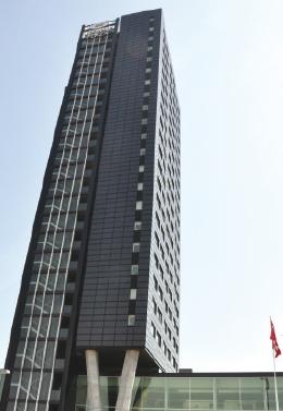 Yeşil bir Otel: Crowne Plaza Kopenhag Kuleleri